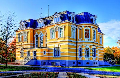 erckens vila,architektūra,pastatas,vila,istoriškai,Grevenbroich,hdr