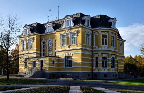 erckens vila,architektūra,pastatas,istoriškai,Grevenbroich,vila