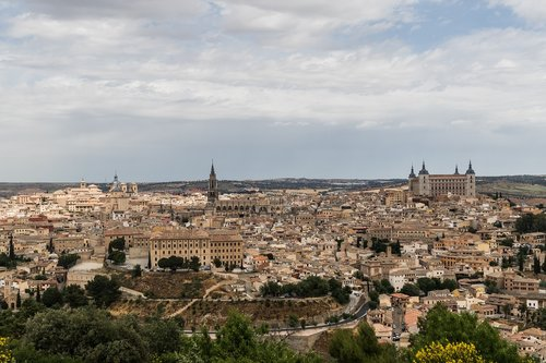 Ispanija gražus, Ispanija, Toledo, Greco dangus, kraštovaizdis
