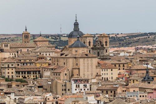 Ispanija gražus, Ispanija, Toledo, Senamiestis, statyba, graikų