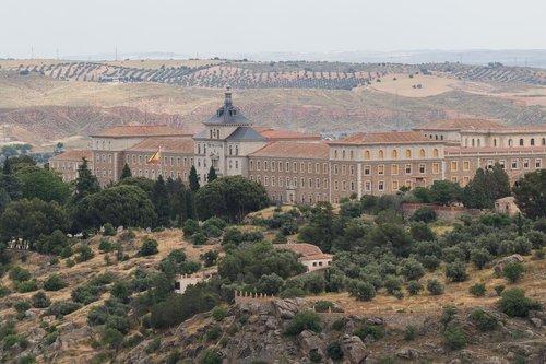 Ispanija gražus, Ispanija, Toledo, žymus objektas, statyba, graikų