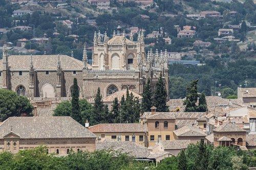 Ispanija gražus, Ispanija, Toledo, statyba, graikų