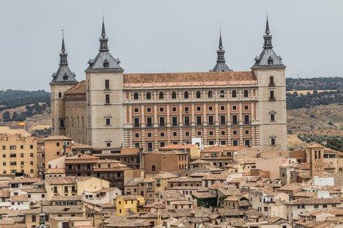 Ispanija gražus, Ispanija, Toledo, tvirtovė, žymus objektas, istorinis, graikų
