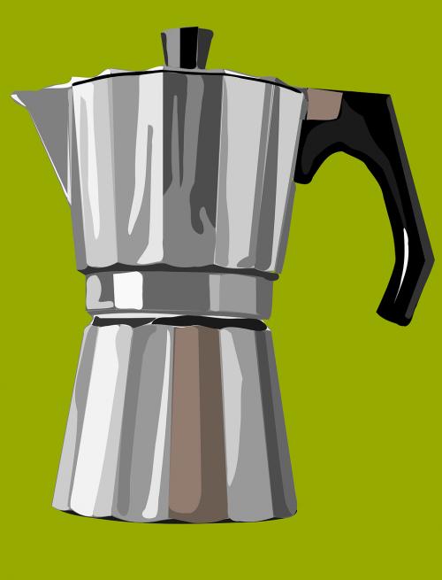 espresso mašina,aliuminis,prietaisas,gėrimas,kava,gerti,espresso,virtuvė,Moča,nemokama vektorinė grafika