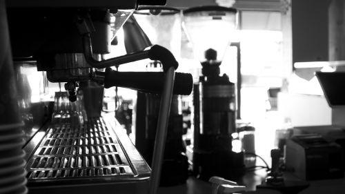 espresso mašina, juoda balta, espresso, kava, mašina, kofeinas, juoda, cappuccino, restoranas, balta, šiuolaikiška, gamintojas, kavinė, rytas, įranga, latte, karštas, metalas, prietaisas