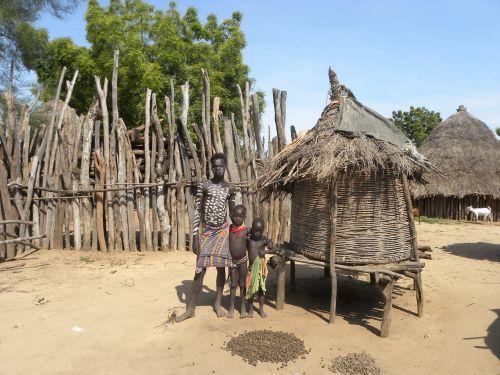 etiopija, namelis, gentis