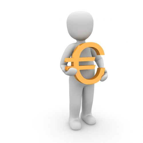 euras,personažai,3d,simbolis,Europa,valiuta