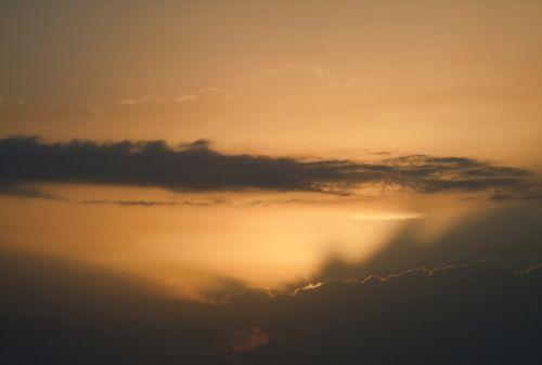 vakarinis dangus,škvalo linija,natūralus spektaklis