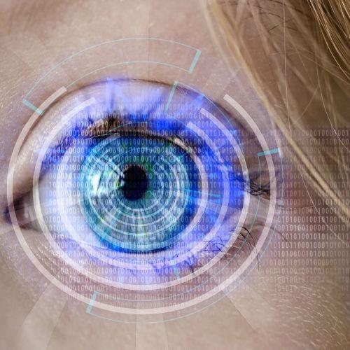 akis,technologija,dvejetainis,dirbtinis,vaizdo stebėjimas,stebėjimas,kontrolė,iris