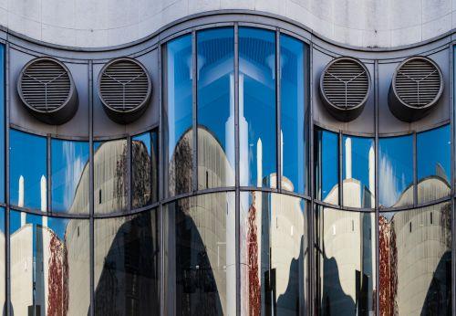 fasadas,veidrodis,stiklas,stiklo fasadas,pastatas,šiuolaikiška,stiklo priekis,architektūra,namo fasadas,bonas,dailės muziejus