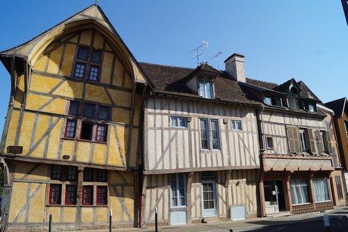 Fachwerkhaus, Prancūzija