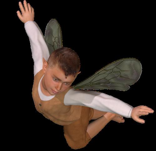 fėja,berniukas fėja,fantazija,stebuklinga,pixie,Elfas