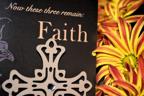fonas, spalvinga, tikėjimas, tikėjimas gėlė mama kryžiaus krikščionis