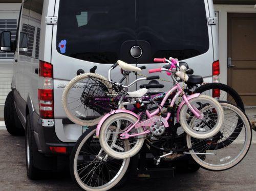 šeima, dviratis, dviračiai, atostogos, dviračiai, linksma, vasara, van, pratimas, lauke, vaikai, mama, tėtis, vaikui draugiškas, Šeimyniniai dviračiai