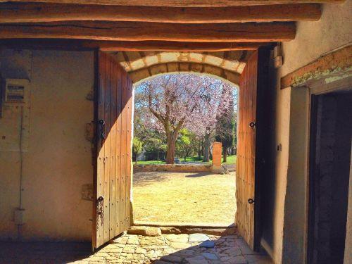 sodyba,daugiau,namas,durys,durys,cardedeu,vallès,senas,kaimas,kaimiškas,akmuo,pieda,akmuo,daugiau nei sant hilari,hilario,šventas mėnuo,katalonija