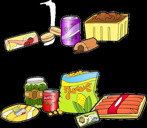 Greitas Maistas, Nesveikas Maistas, Pramoninis Maistas, Mesainis, Mėsainis, Cheeseburger, Mcdonalds, Nesveika, Pietūs, Maistas, Nemokama Vektorinė Grafika