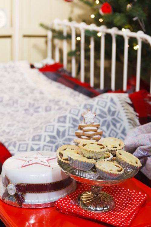 tortas, Kalėdos, apdaila, desertas, šventinis, maistas, šventė, saldus, stalas, tradicinis, Kalėdos & nbsp, medis, žiema, xmas, mince & nbsp, pyragai, lova, šventinis maistas
