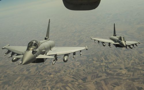 fgr4 & nbsp, taifūnas, karališkasis & nbsp, oras & nbsp, jėga, eurofighter, oras & nbsp, jėga, skrydis, aviacija, degalų pildymas, dangus, fgr4 taifūnas