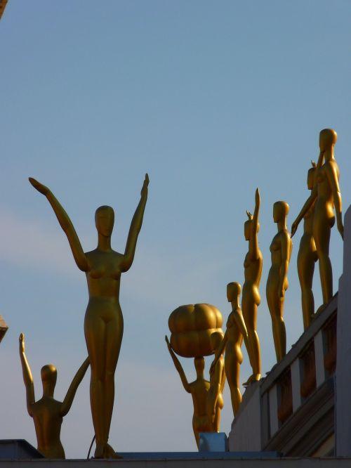 figūra,auksinis,muziejus,dalí,figueras,Ispanija,pastatas