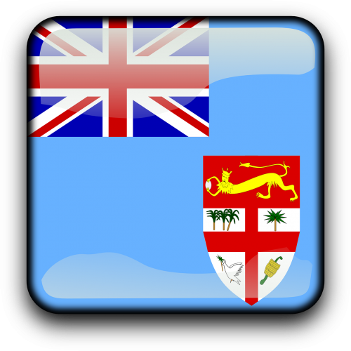 Fidžis,vėliava,Šalis,Tautybė,kvadratas,mygtukas,blizgus,nemokama vektorinė grafika