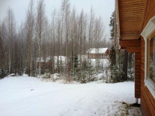 finland,sniegas,dacha,žiema
