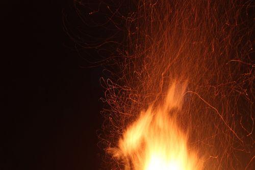 Ugnis, Karsto Ugnis, Radijas, Liepsna, Kibirkštinis Ugnis, Blaze, Šiluma, Šviesos Efektas, Šiltas