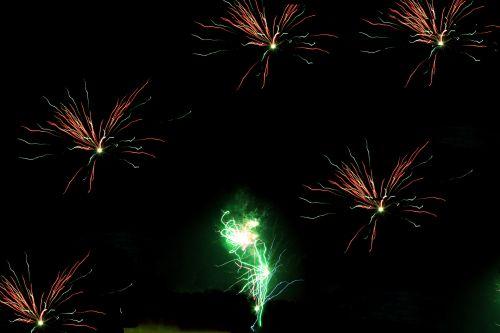 fejerverkai, objektas, šventė, nauja & nbsp, metų & nbsp, eve, šventė, fonas, tapetai, fejerverkai 7