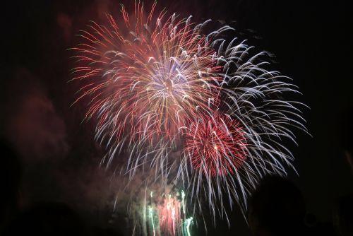 fejerverkai,balta,raudona,šviesa,spalva,mėnulio naujieji metai,gražus,spalvos,spalvinga,Naujieji metai,tradicinis vakaras,Naujųjų metų vakaras,Naujųjų metų diena,Vietnamas,gėlė,Hošimino miestas,gėlės,į pietus,pavasaris,vietnamiečių