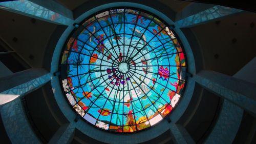 žuvis,stiklas,mozaika,povandeninis,spalva,meno,langas,stogas,lobis,dienos šviesa,akvariumas,jūra,vandenynas,jūrų,dekoratyvinis,mėlynas,vitražas,jūrinis