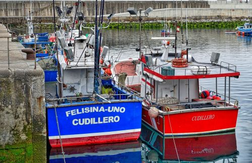 žvejybos laivai,raudona,mėlynas,uostas,jūrinis,laivai,valtys,prieplauka,laivyba,laivai,uostas