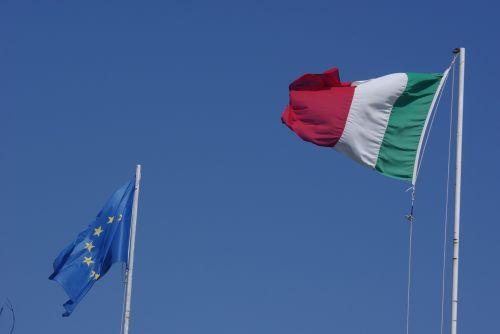 vėliava,italy,Italijos vėliava,Italijos vėliava,vėjas,ue,vėliava europa