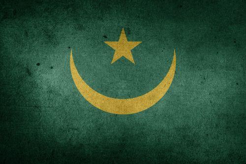 vėliava,Mauritanija,afrika,Grunge