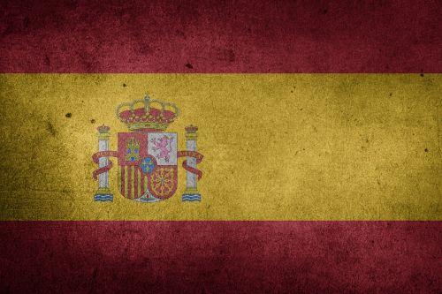 vėliava,Ispanija,Europa,Grunge,ispaniškas