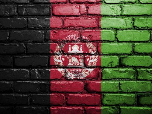 vėliava,Afganistanas,siena,dažyti,purškiami dažai,Tautybė,simbolis,Afganistanas