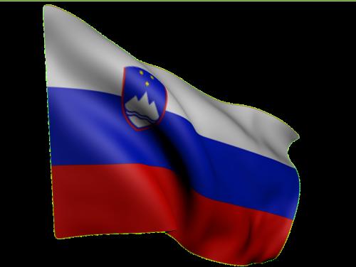 vėliava,slovenia,Šalis,balta,mėlynas,raudona,herbas,kalnai,trys žvaigždės