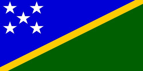 vėliava,Соломон,salos,okeanija,melanėja,nacionalinis,penki,balta,žvaigždės,mėlynas,vandenynas,žalias,žemė,geltona,saulės šviesa,simboliai,nemokama vektorinė grafika