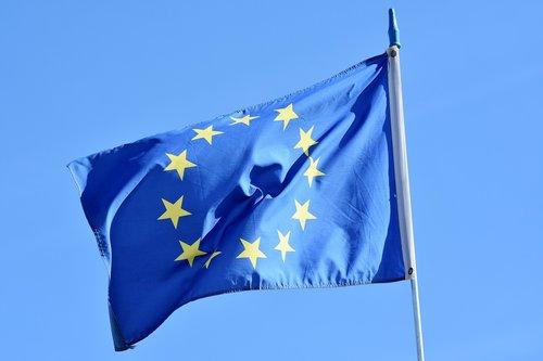 vėliava, Europa, Europos vėliavos, ES vėliavos, star, ES, Šalis, Europos, Amerikos Valstijų, žemės, euro, Europos Sąjungos vėliava, bendradarbiavimas, tarptautinis, būklė, Briuselyje, Euro Star, euro ženklas