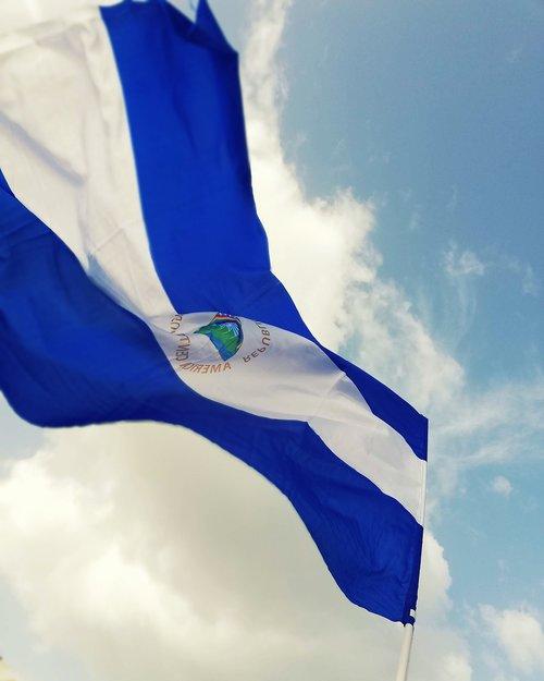 vėliava, Nikaragva, Šalis, tauta, namai