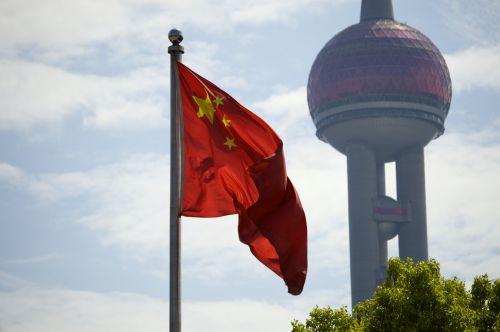 vėliava,Kinija,Šanchajus