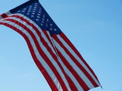 vėliava, Liepos 4 d ., patriotizmas, patriotinis, amerikietis