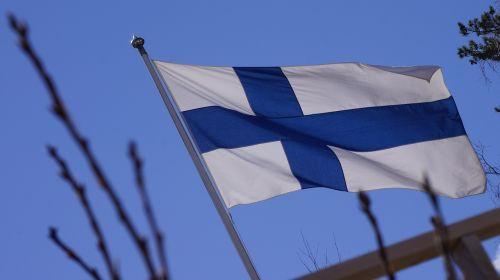 finlando vėliava,mėlyna kryžius,flagpole,vėliava svirtis,musia,vėliava,suomių