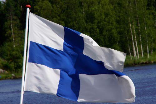 finlando vėliava,mėlyna kryžius,suomių,musia,mėlyna ir balta