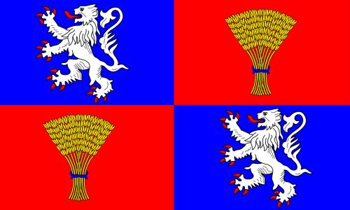 ducony vėliava,vėliava,heraldika,Prancūzų kalba,franšis,provincijos vėliava,reklama,nemokama vektorinė grafika