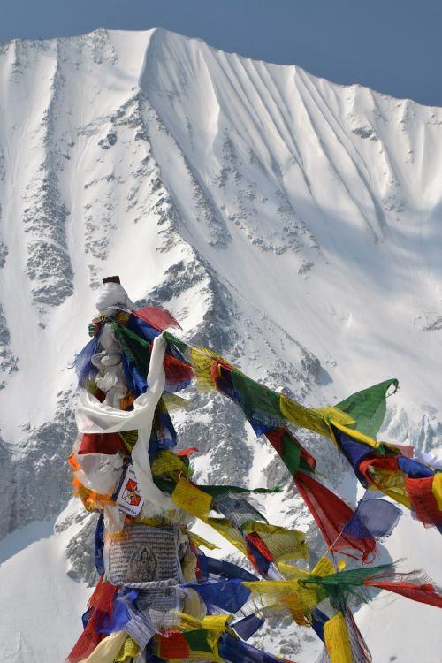 vėliavos,Nepalas,kalnas,aukščiausiojo lygio susitikimas,maldos vėliavos,Himalajus,žygiai,pasivaikščiojimas,spalva,laisvė