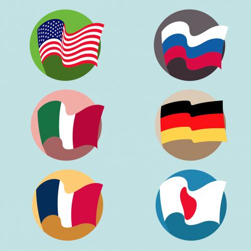 vėliavos,usa,usa flag,amerikietis,Japonija,united,vokiečių,nepriklausomumas,pasididžiavimas,simbolinis,demokratija,nemokama vektorinė grafika