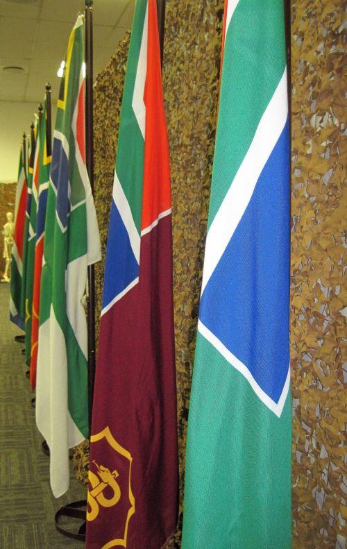 vėliavos, gynyba, jėga, Pietų Afrika, eksponatas, Rand & nbsp, Velykų & nbsp, šou, ginkluotųjų pajėgų vėliavos
