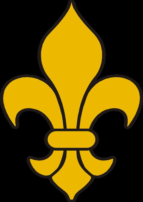 Fleur De Lis, Apdaila, Simbolis, Gėlių, Modelis, Ornamentas, Heraldinis, Nemokama Vektorinė Grafika