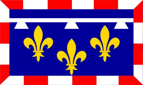 Fleur De Lis, Fleur-De-Lis, Vėliava, Heraldika, Prancūzų Kalba, Dizainas, Nemokama Vektorinė Grafika