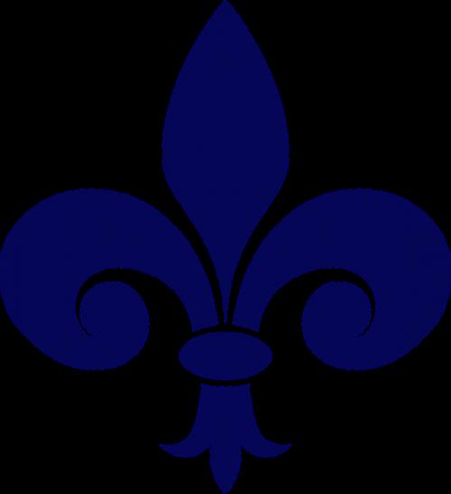 Fleur-De-Lis, Heraldika, Karinis Jūrų Laivynas, Simbolis, Tvora, Nemokama Vektorinė Grafika