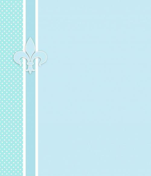 Fleur & Nbsp,  De & Nbsp,  Lis,  Fleur & Nbsp,  De & Nbsp,  Lys,  Mėlynas,  Balta,  Polka & Nbsp,  Taškų,  Dėmės,  Taškai,  Kortelė,  Popierius,  Šablonas,  Kvietimas,  Skelbimas,  Dizainas,  Menas,  Iliustracija,  Scrapbooking,  Fleur De Lis Kortelė